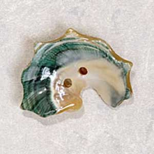 "Exotic Buttons 20402 - Shell Little Neck 1.5"" - 38 mm"