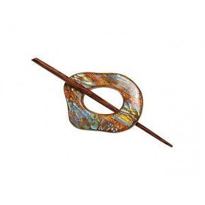 Exotic Shawl Pins 32502 - Copper Shell