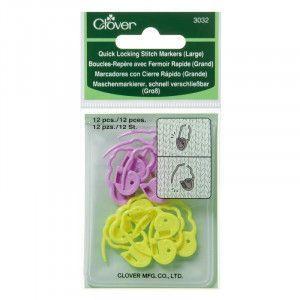 Quick Locking Stitch Markers #3032 Large