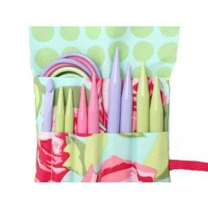 2Go Needles Set For Knitting Pastel Medium Sizes - Dots
