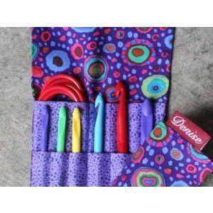 2Go Hooks Set For Crochet - Italian Glass Purple