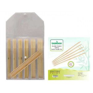 "DP Sock Needles Set Bamboo 8"" Sock Needle Set"