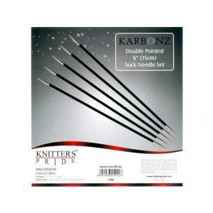 "DP Sock Needles Set Karbonz 6"" Sock Needle Set"