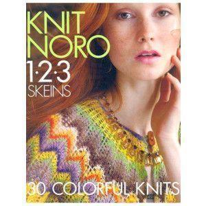 Knit Noro 1-2-3 Skeins