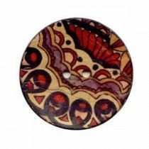 Exotic Buttons 12603-64 - Paisley