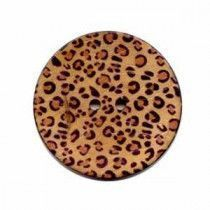 Exotic Buttons 12702 - Cheetah