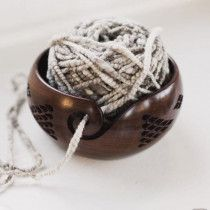 Furls Diamond Rosewood Yarn Bowl
