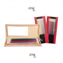 Single Pointed Needle Set Zing 10 in - 25 cm