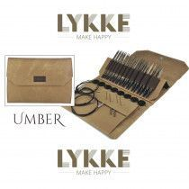 Lykke Driftwood Interchangeable Gift Set in Umber Denim Pouch