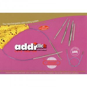 Click Rocket Long Tips Interchangeable Circular Knitting Needle System