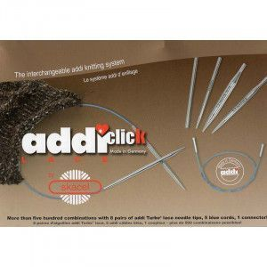 Click Rocket Short Tips Interchangeable Circular Knitting Needle System