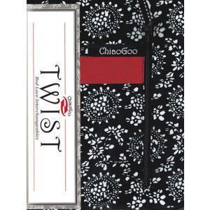 """TWIST 4"""" Red Lace Interchangeables Complete: 2 US - 15 US"""