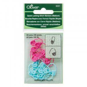 Quick Locking Stitch Markers #3031 Medium