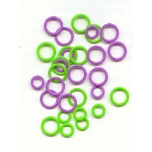 Stitch Markers Soft Stitch Ring Markers