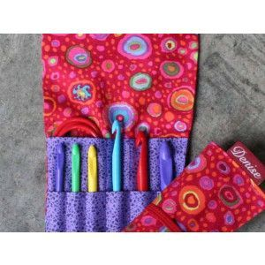 2Go Hooks Set For Crochet - Italian Glass Red