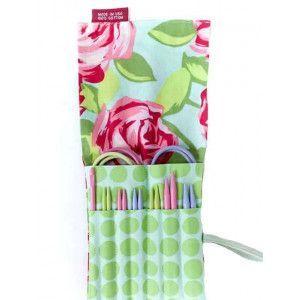 2Go Needles Set For Knitting Pastel Small Sizes - Roses