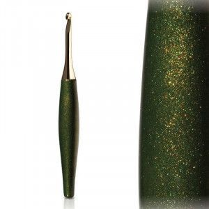 Furls Crochet Hooks Odyssey Forest and Gold