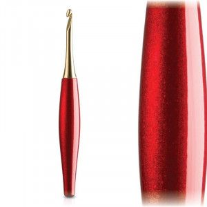 Furls Crochet Hooks Odyssey Red and Gold