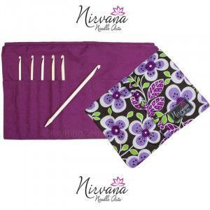 Nirvana Needle Arts Bone Crochet Hooks Gift Set