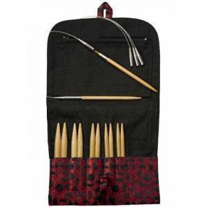 Interchangeable Needles Sets Bamboo Large sizes, 5""