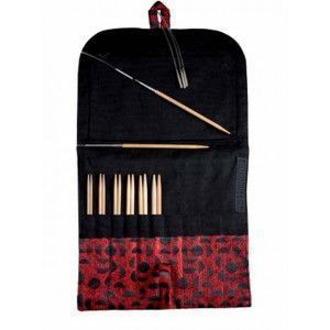 Interchangeable Needles Sets Bamboo Small sizes, 5""