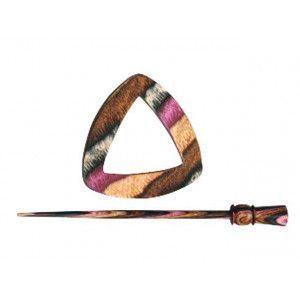 Knitter's Pride Shawl Pins 02 - Electra - Symfonie Wood Lilac