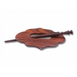 Knitter's Pride Shawl Pins 72 - Daffodil - Horn Wood Exotica