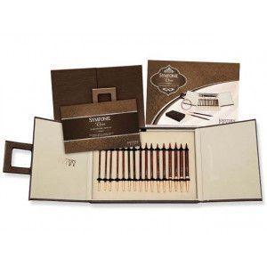 Symfonie Wood Set Rose Interchangeable Deluxe Needle Set
