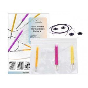 Trendz Acrylic Needles Interchangeable Starter Set