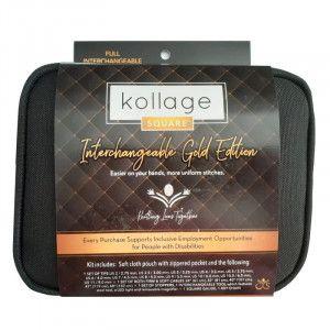 Kollage Square® Full Interchangeable Set Golden Edition