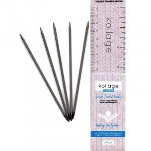 Kollage Square Double Pointed Needles