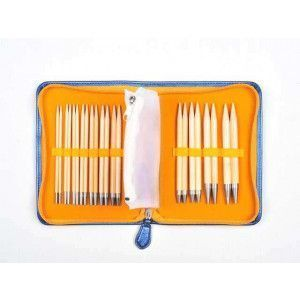 Interchangeable Needle Set Tulip Bamboo Carry C Long