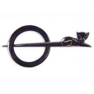 Lantern Moon Shawl Pins 74007 - Dark Cat