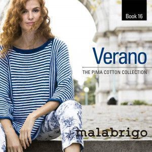 Malabrigo Book #16 - Verano. The Pima Cotton Collection
