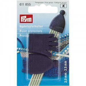 Prym Point Protectors 855 - Plum-Blue set for 2-2.5 mm needles