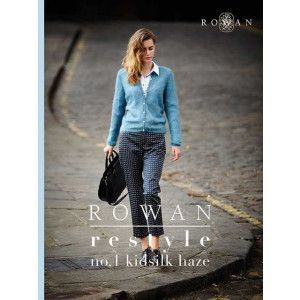 Rowan Restyle No. 1 Kidsilk Haze