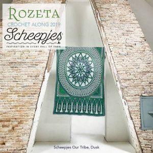 Scheepjes Yarns Cal 2019, Rozeta, Our Tribe Yarn, Color Dusk
