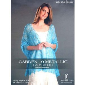 Garden 10 Metallic Lacy Knits