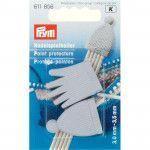 Prym Point Protectors 856 - Grey set for 2.5-4 US needles
