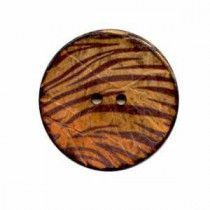 Exotic Buttons 12701 - Tiger