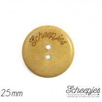 "Scheepjes Wooden Button, 1"" / 25 mm"