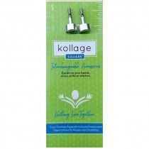 Kollage Square Interchangeable Cable Stoppers