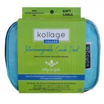 Kollage Square® Mini Interchangeable Set, SOFT Cables