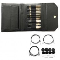 Driftwood Interchangeable Gift Set in Black Leather Pouch