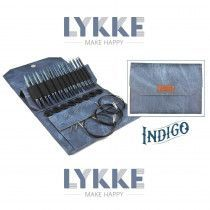"Lykke 3.5"" Driftwood Interchangeable Gift Set in Indigo Pouch"