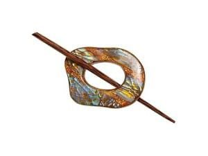 Exotic Shawl Pins 32502 - Copper Shell